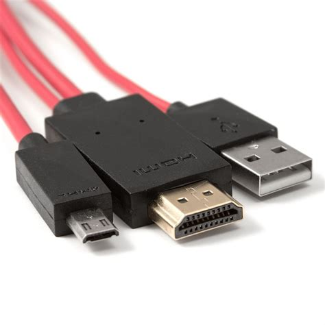 Micro Usb To Hdmi Mhl Adapter mhl adapter cable micro usb to hdmi for samsung galaxy s3