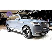 Lincoln Navigator Concept  2016 New York Auto Show YouTube