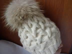 вязать на спицах шапку обьемную