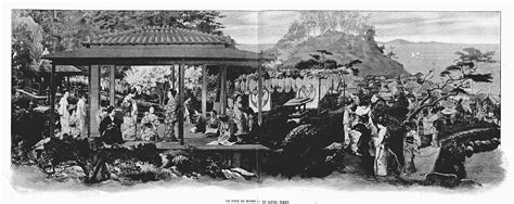 Modern japanese geisha girls in the world tour panorama pavilion