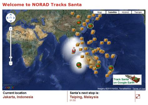 Norad Santa Tracker Phone Number News Issues Damages Where Is Santa Claus The 2010 Santa