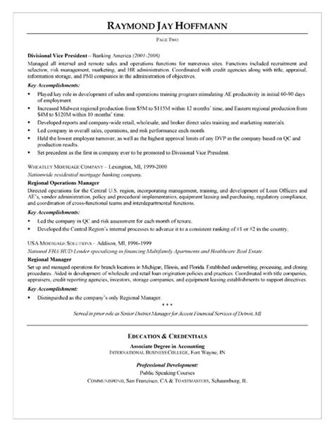 Loss Mitigation Resume Summary by Mortgage Banker Resume Exle