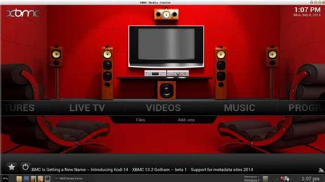change wallpaper xbmc apple tv xbmc how to change your skins theme and background image