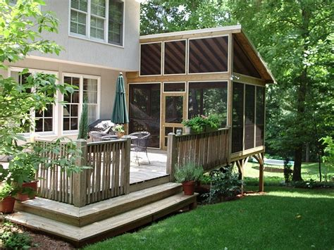 Outdoor Inspiring Outdoor Deck Design With Nice Cozy Backyard Deck Design Ideas