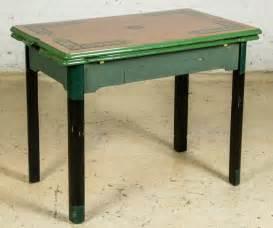 Vintage Enamel Kitchen Table Vintage 1940 S Enamel Top Kitchen Table Lot 191