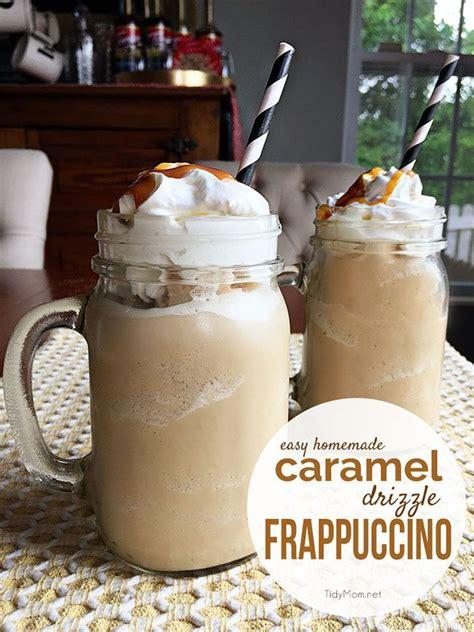 caramel drizzle frappuccino recipe tidymom 174