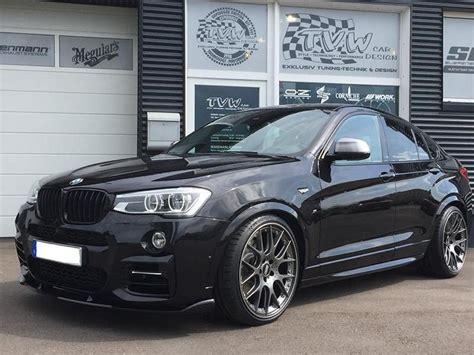 Tiefer BMW X4 M40i (F26) vom Tuner TVW Car Design