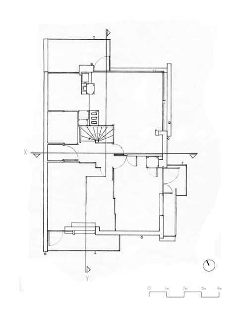 rietveld schroder house floor plans the rietveld schroder house hand drawings