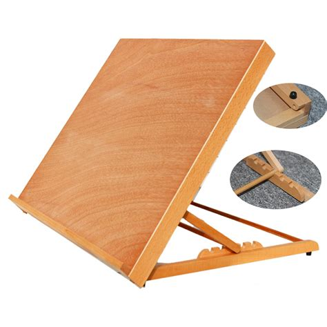 Portable Drafting Table Top Portable Folding Table Top Desk Easel Adjust Angle Drawing Board Artist Painting Ebay