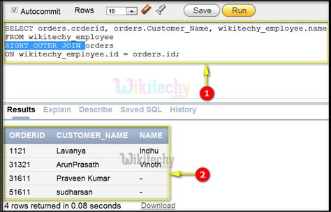 joins tutorial in oracle right outer join oracle by microsoft awarded mvp oracle