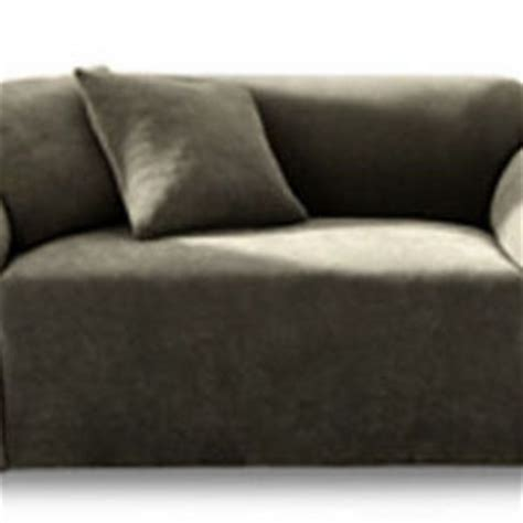 Sure Fit Sofa Covers Reviews by Sure Fit Stretch Sofa Cover Pique Taupe Reviews
