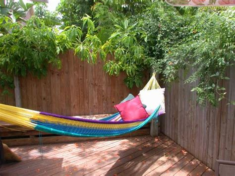 lazy cottages key west you could be in this hammock on the back deck