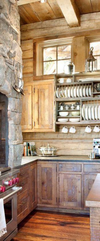 rustic cabin kitchen ideas 25 b 228 sta rustic kitchen design id 233 erna p 229