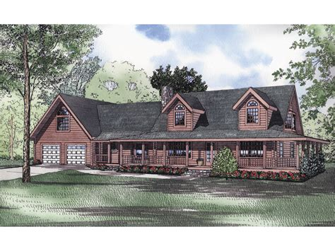 traditional log cabin plans eads creek traditional log home plan 073d 0029 house