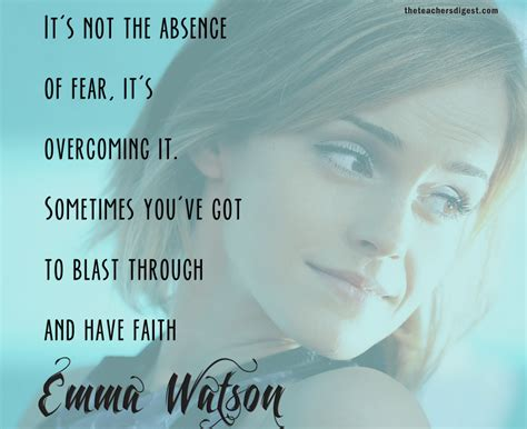 emma watson inspirational quotes quote of the day emma watson the teachers digest