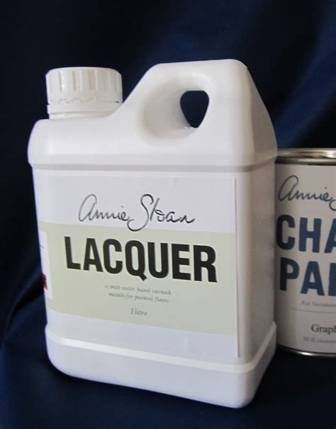 chalk paint varnish sloan lacquer