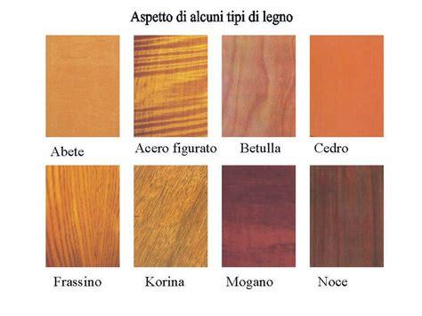diversi tipi di legno guida ai legni