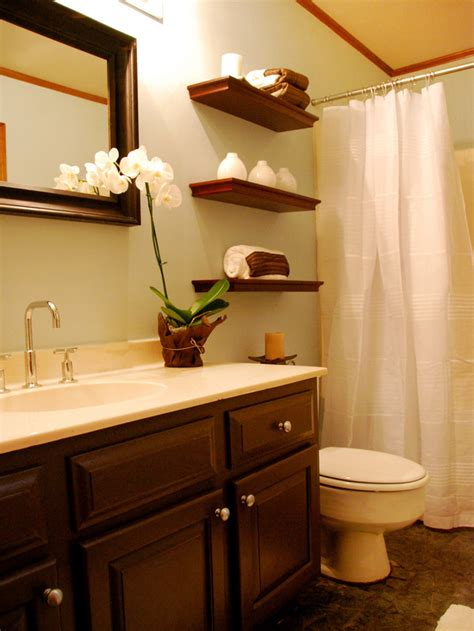 Bathroom Shelves Decorating Ideas Floating Bathroom Shelves