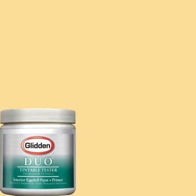 glidden duo paint 8 oz buttered sweet corn interior paint tester gl