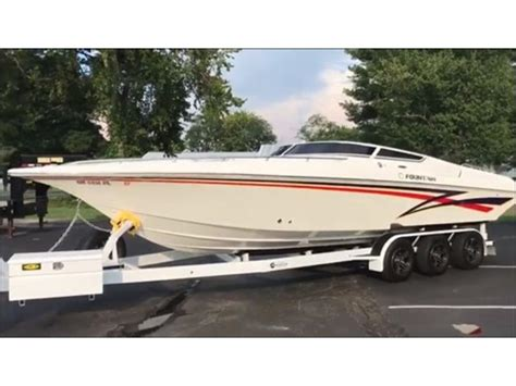2005 fountain fever 29 powerboat for sale in ohio - Fountain Boats For Sale Ohio