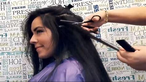 como es el corte de pelo de dybala del 2016 resultados de la corte pelo liso entresacado how to thin out hair youtube