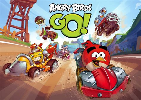 angry birds go a mario kart inspired version of angry birds