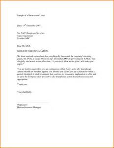 Business Letter Sample Explanation 10 Example Of Explanation Letter Attendance Sheet Download