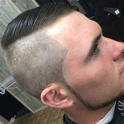 side part long shaved sides men shaved sides hairstyles for men 2017 men s haircuts