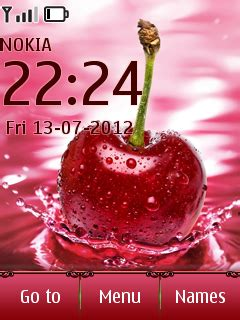 themes cherry mobile download cherry drop nokia theme mobile toones