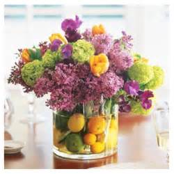 Flowers fruit stunning spring centerpiece the party dress