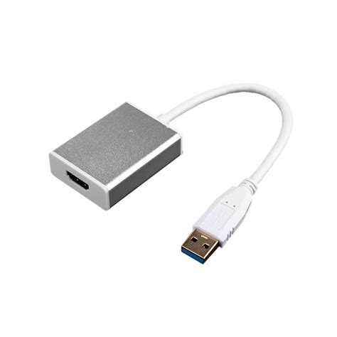 Usb 3 0 To Hdmi Cable Adapter Converter For Pc Laptop Hdtv new usb 3 0 to hdmi extremely high speed converter adapter connector usb to hdmi external