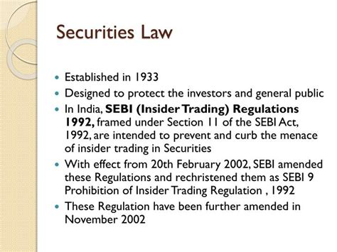 Section 11 Securities Act Of 1933 by Ppt Corporate Governance Powerpoint Presentation Id