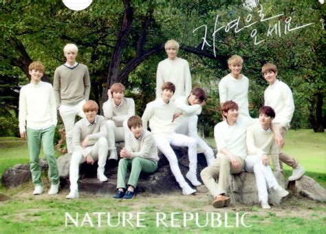 Exo Nature Republic | order links exo 2014 nature republic calendar hand