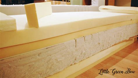Cutting Up A Mattress by Make Your Own Diy With Help From Green Bow