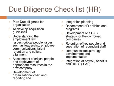 hr due diligence report template hr due diligence report template 28 images sle due diligence checklist template 8 free 28