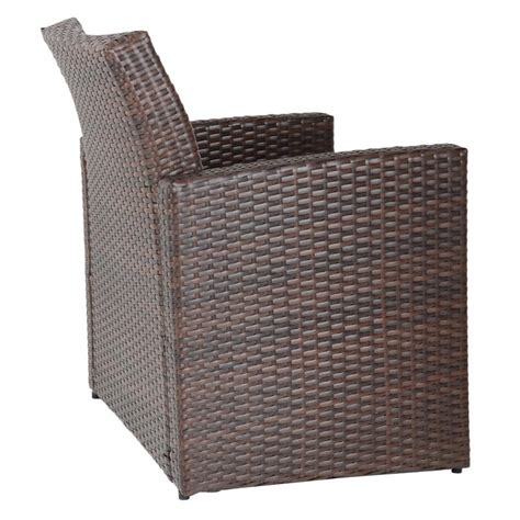 Rattan Sofa Table by Brown Tuscany Rattan Wicker Sofa Garden Set With Coffee Table