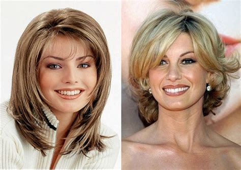 mid length long layers for women in 40s long layered hairstyles for women over 50 medium length