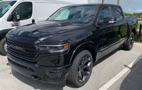 2020 dodge ram limited 2020 ram 1500 limited black appearance package arrives in