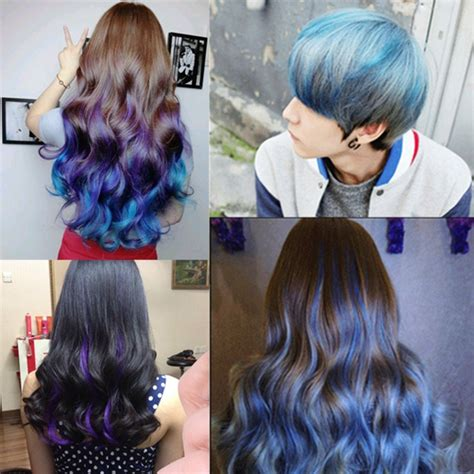 diy hairstyles color 4 colors unisex diy hair color wax mud disposable