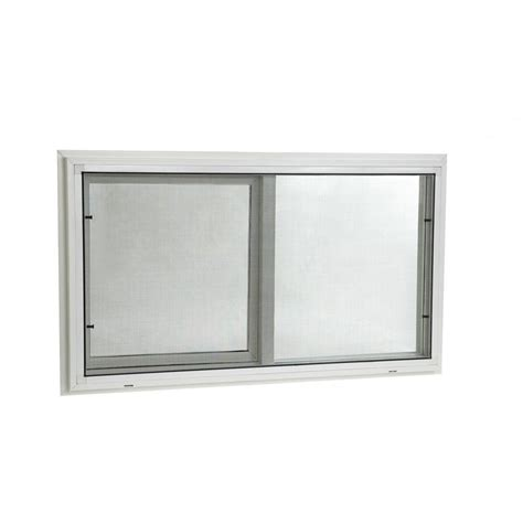 basement slider windows tafco windows 32 in x 16 in awning vinyl window with