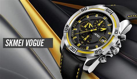 Jam Tangan Daniel Wellington Anti Air skmei jam tangan analog pria 9156 yellow