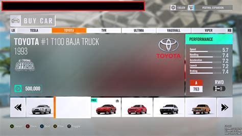 accidentally released developer version  fh reveals unseen cars  sim racing
