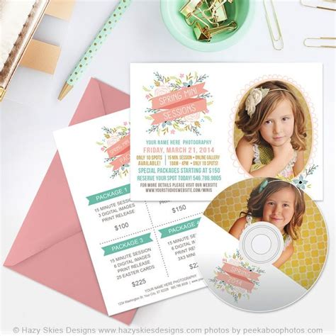 Easter Card Templates For Photoshop by 56 Best Marketing Sets For Photographers Images On