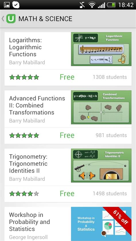 android tutorial coursera udemy courses and tutorials soft for android 2018