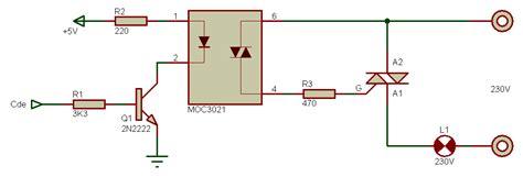 diode triac using the gpio with bidirectional thyristors raspberry pi forums
