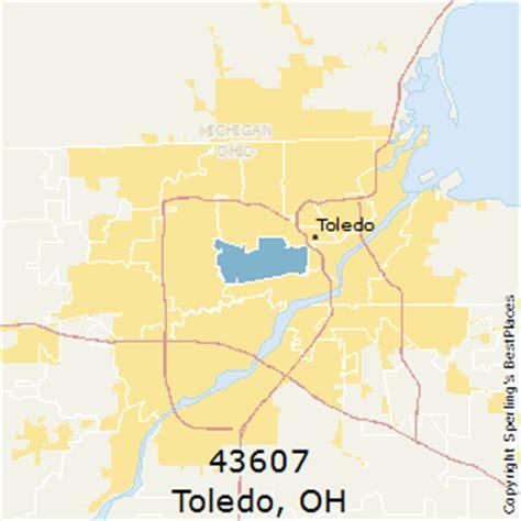 zip code map toledo ohio best places to live in toledo zip 43607 ohio