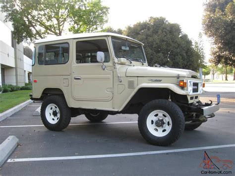original land cruiser 1982 toyota land cruiser fj40 landcruiser 4wd fj 40