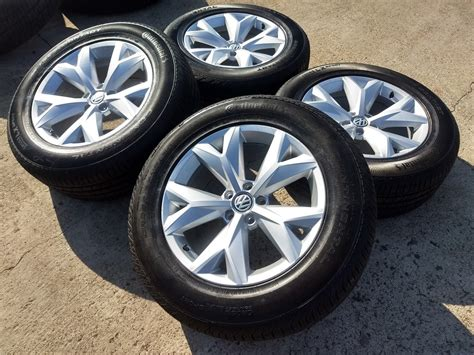 vw volkswagon atlas oem  wheels