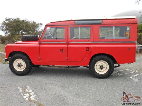 land rover safari for 1964 land rover 109 2a safari wagon