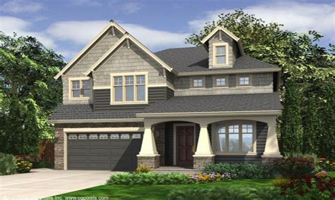narrow lot house plans with front garage narrow lot house plans small house plans craftsman